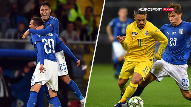 Highlights: Italien kunne ikke få bugt med Ukraine