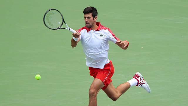 Cette fois, Djokovic n'a fait qu'une bouchée de Cecchinato
