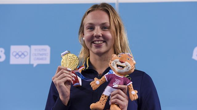 """Guld för Sara Junevik på ungdoms-OS: """"Blev chockad"""""""