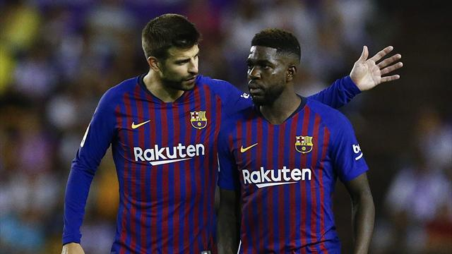 Barca's Umtiti may require knee surgery - reports
