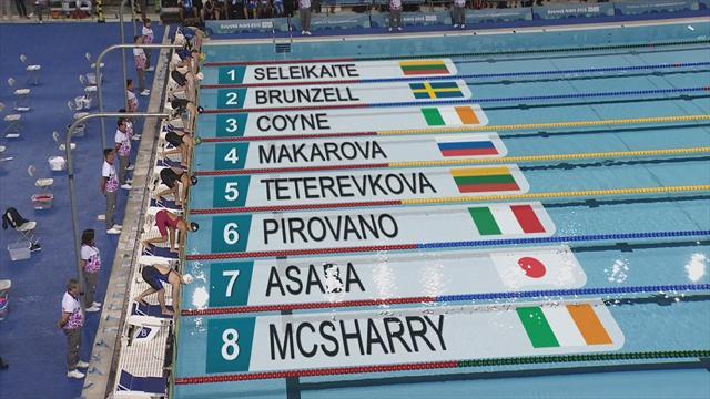 Makarova reine du 100m brasse