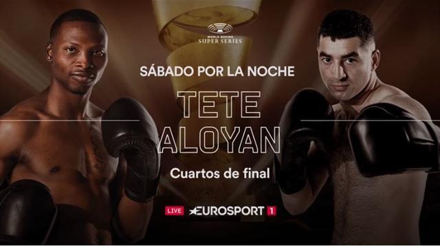 Vive los cuartos de final de las World Boxing Super Series en exclusiva en Eurosport