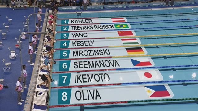 Kesely titrée sur le 200m libre