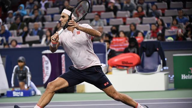 💪Federer derrota a Nishikori y buscará venganza ante Coric en semifinales (6-4 y 7-6 -4-)