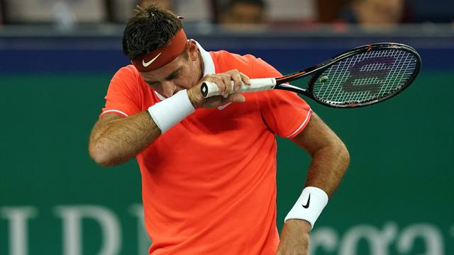 Del Potro could miss ATP Finals with fractured knee