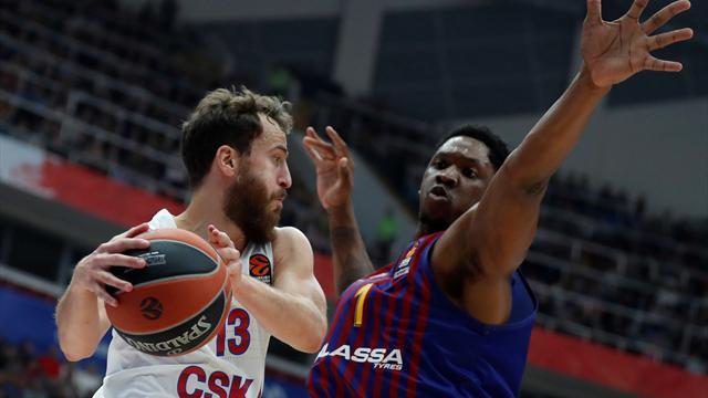 Euroliga, CSKA-Barça: Duro correctivo para comenzar (95-75)