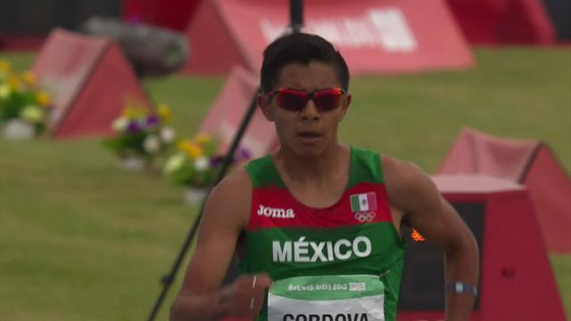 Mexican Cesar Cordova Fernandez claims controversial race walk gold medal