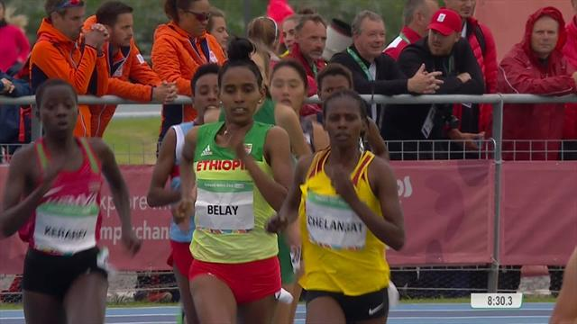 Classy Chelangat cruises to victory in women's 3000m cross country