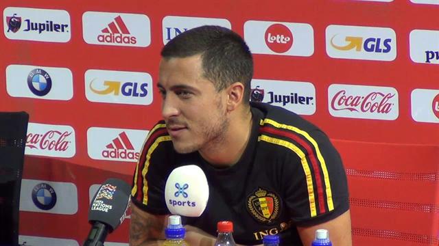 """Sind Sie der Beste der Welt, Eden Hazard? """"Ja!"""""""
