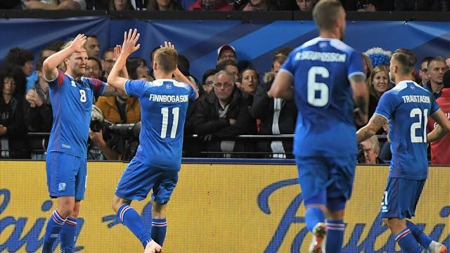 Une perte de balle de Kimpembe, une attaque à l'affût : l'ouverture du score de l'Islande