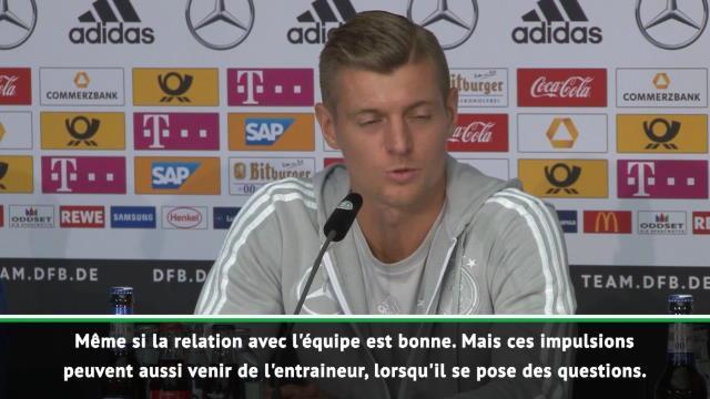 """Pour Kroos, """"le futur sera meilleur avec Löw sur le banc"""""""