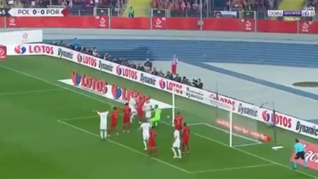 Суперфорвард Польши Пёнтек забил Португалии, но только раззадорил друзей Роналду