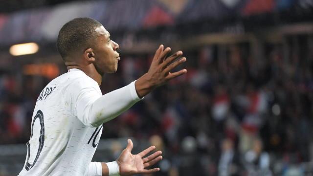 """Giroud : """"Mbappé nous a sorti une belle épine du pied"""""""
