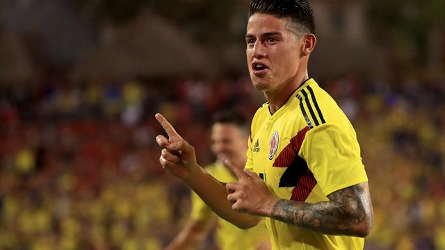 Bayern-Star James führt Kolumbien zu Sieg in USA