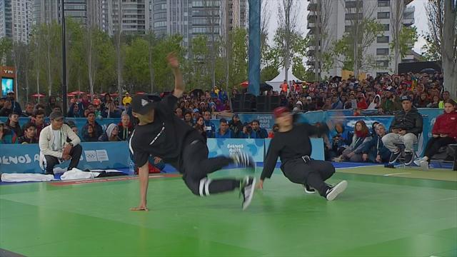Breakdance-Battle: Das Duell um Gold bei den Youth Games