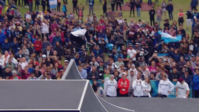 Grundstein für Gold: Lara Lessman dreht im BMX-Finale auf
