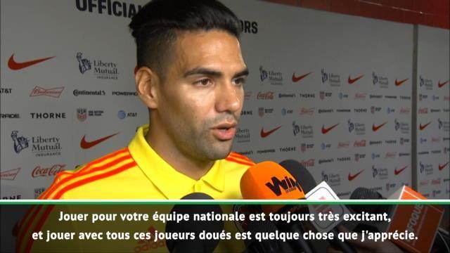 """Amical - Falcao : """"Jouer pour la Colombie, c'est différent de Monaco"""""""