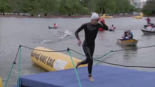 Europas Youngster holen Staffel-Gold im Triathon