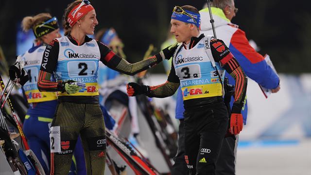 Biathlon: Hinz und Lesser auf Schalke dabei