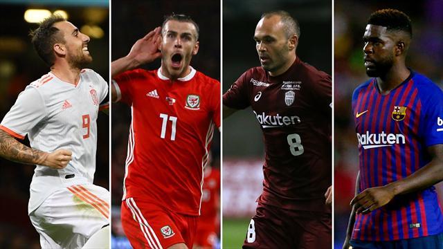 Alcácer, Bale, Iniesta y Umtiti, los nombres del día