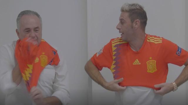 El genial vídeo de Joaquín y Gordillo para promocionar el España-Inglaterra