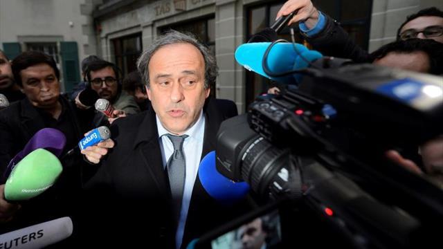 Platini quiere que la justicia francesa aclare quien le delató en la FIFA