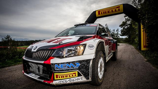 Gryazin beats ERC Junior rivals for Liepāja Qualifying Stage win