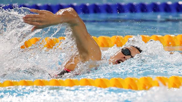 Russland gewinnt 4x100m Freistil-Staffel