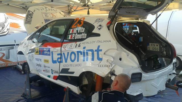 ERC Junior Vita misses Liepāja Qualifying Stage after crash