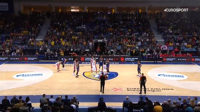 Highlights: Khimki Mosca-Olympiacos Pireo 66-87