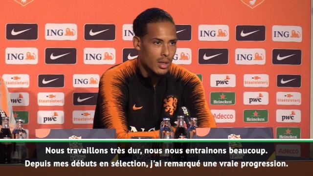 """Pays-Bas - Van Dijk : """"Nous sommes de retour sur la bonne voie"""""""