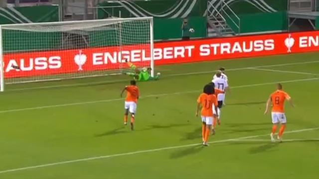 Amistoso, Alemania Sub 20-Holanda Sub 20: Hoekstra mantuvo la igualdad con un paradón (1-1)