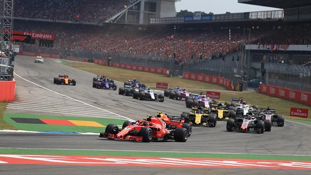 Formel-1-Kalender fix: Deutschland-GP 2019 Ende Juli