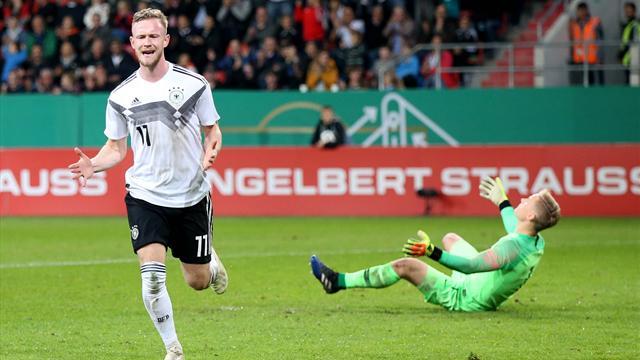 Mit Video | Titelverteidiger Deutschland löst Ticket für U21-EM