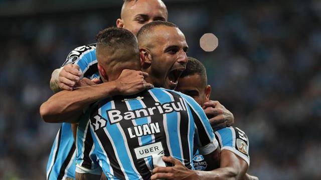 Gremio amenaza la condición de líder de Palmeiras