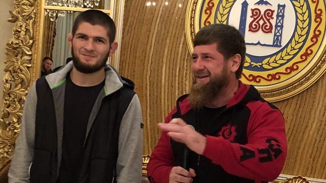 «Хабиб проявил готовность к прыжку дружбы». Кадыров помирил Нурмагомедова и Тимати