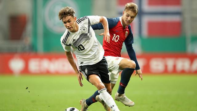 Clasificación Euro Sub 21, Alemania-Noruega: Waldschmidt pudo con Odegaard (2-1)