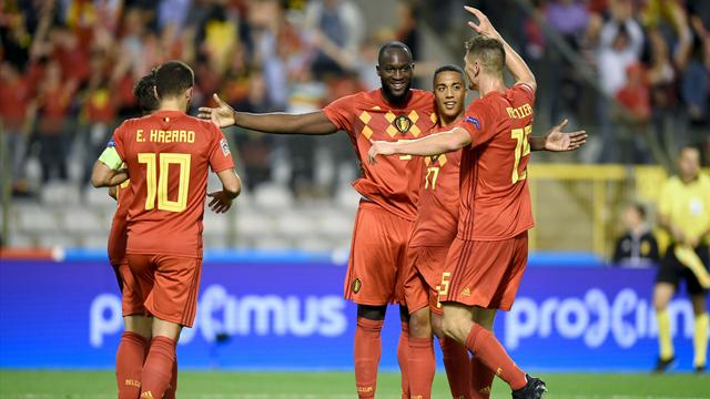 Romelu Lukaku double sees Belgium past Switzerland