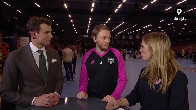 """Johan Samuelsson: """"Skönt att vinna, de var tight på oss i slutet"""""""
