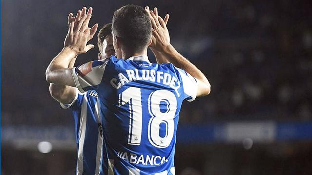 LaLiga 1|2|3, Deportivo La Coruña-Elche: Goleada para seguir la estela del Málaga (4-0)