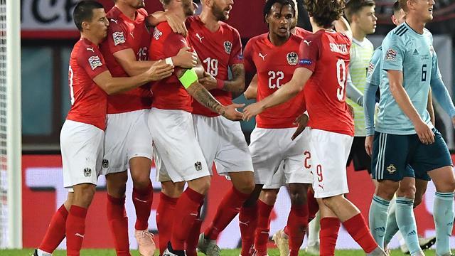 Nations League: Erster Sieg für Österreich