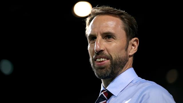 Southgate satisfied by England showing in silent surroundings