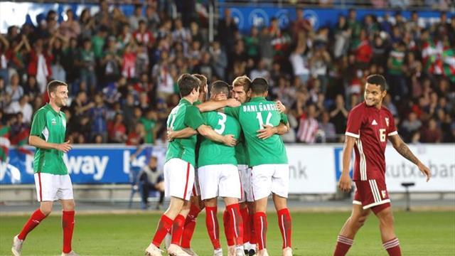 4-2. Euskadi aprovecha su pegada ante Venezuela