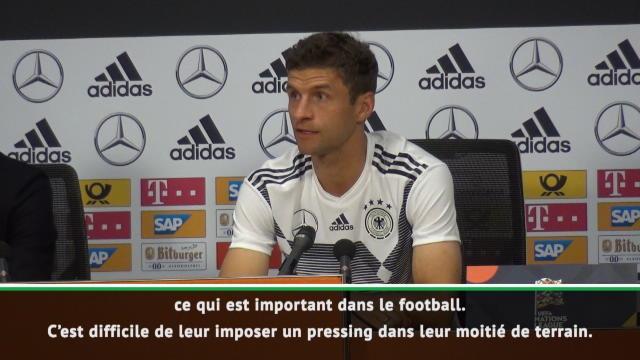 Ligue des Nations - Müller loue le style des Pays-Bas