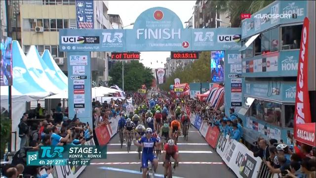 Álvaro Hodeg (Quick-Step) wint vijfde etappe Ronde van Turkije