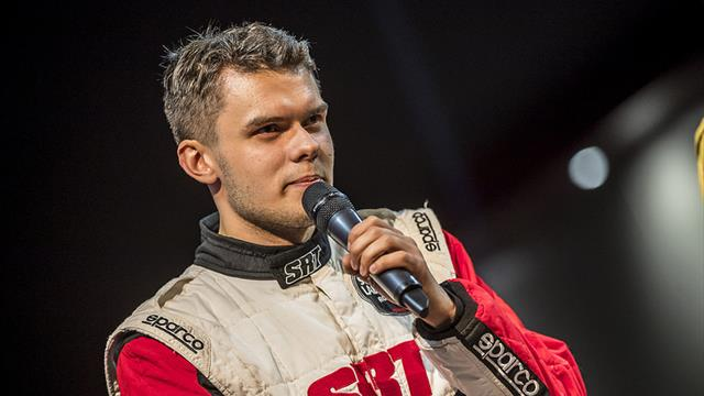 Leader Gryazin chooses chicken and pasta after 150kph ERC moment
