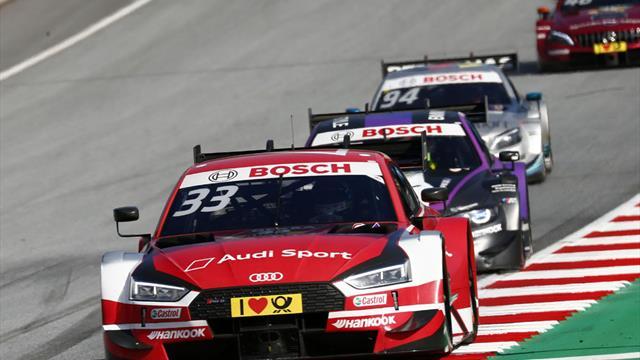 DTM: Fünfter Sieg in Serie für Rast - Paffett neuer Spitzenreiter