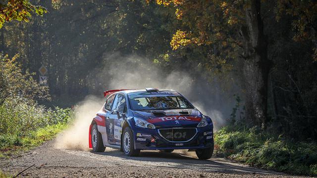 """Les pilotes ERC aiment les spéciales """"à fond"""" du Rally Liepāja"""