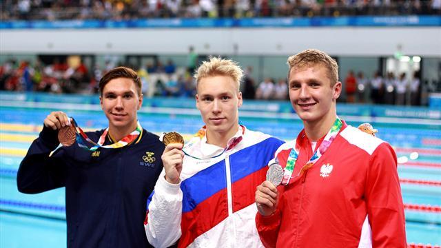 Brons för Robin Hanson i ungdoms-OS