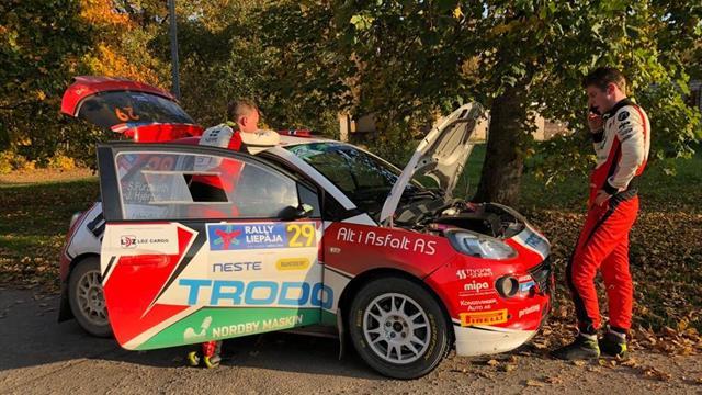 Furuseth loses potential ERC Junior U27 podium with oil leak